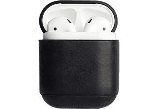 Krusell Sunne Apple AirPods Leren Tas Vintage Zwart