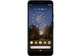 GOOGLE Pixel 3a, Smartphone, 64 GB, Just Black