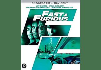 Fast & Furious 4 , (Blu-Ray 4K Ultra HD) BILINGUAL -CAST: VIN DIESEL, PAUL WALKER. Blu-Ray