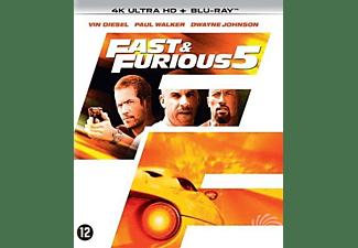 Fast & Furious 5 , (Blu-Ray 4K Ultra HD) BILINGUAL -CAST: VIN DIESEL, PAUL WALKER. Blu-Ray