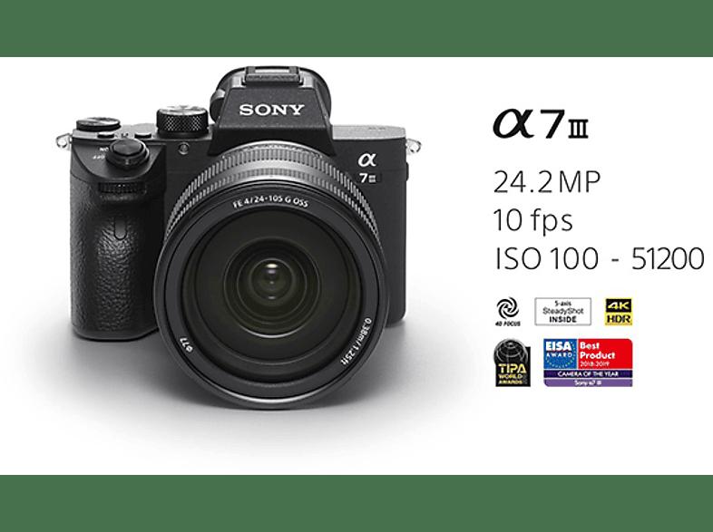 SONY ILCE 7M3 Digitális fényképezőgép + FE 24-105mm F4 G OSS objektív