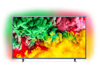 PHILIPS 65PUS6703/12, 164 cm (65 Zoll), UHD 4K, SMART TV, LED TV, 1100 PPI, Ambilight 3-seitig, DVB-T2 HD, DVB-C, DVB-S, DVB-S2