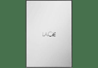 LaCie Mobile Drive 1TB Moon Silver USB 3.0