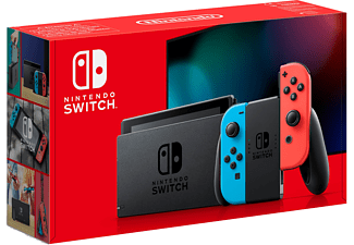 Nintendo Switch (rood-blauw)