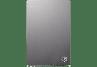 Seagate Backup Plus Slim externe harde schijf 1000 GB Zilver