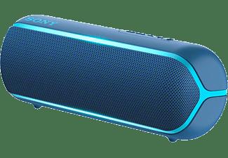 Sony SRS-XB22 Bluetooth luidspreker AUX, Outdoor, stofdicht, watervast Blauw