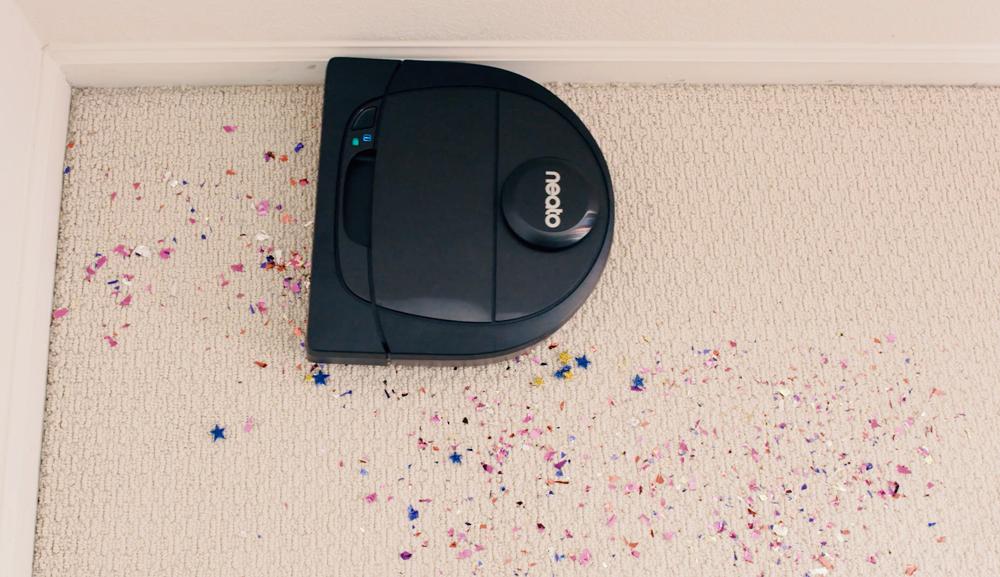 Roboten sköter städningen