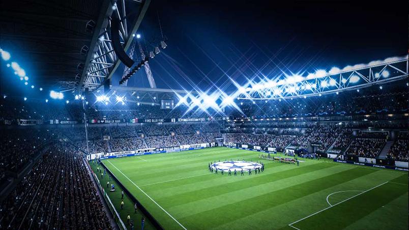 Fotbollsplan i FIFA 19