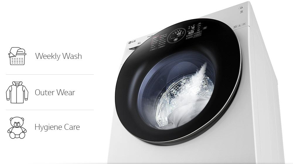 Större mängder tvätt