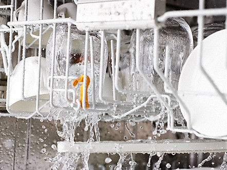 Diskmaskin med vattenförbrukning från 6,5 liter