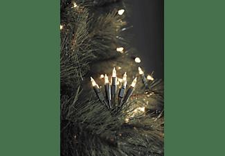 KONSTSMIDE LED Minilichterkette, 100 warm weiße Dioden LED Minilichterkette, Weiß