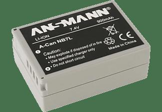 ANSMANN A-Can NB 7 L Li-Ion Akkupack, 7.4 Volt, Typ 900 (min. 800 mAh)  1 Stück