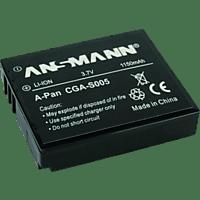 ANSMANN 502278305 PAN CGA-S005 A-Pan CGA S 005 Akku, Li-Polymer, 3.7 Volt, 1150 mAh