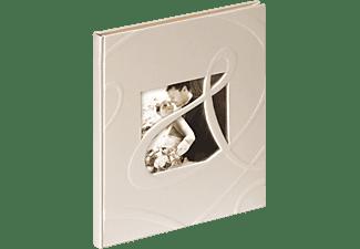 WALTHER GB-122 Ti Amo Gästebuch, 144 Seiten, Einband mit Blindprägung, Weiß