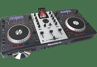 NUMARK Mixdeck universelles DJ-System mit CD, MP3, USB DJ Komplett-System, Schwarz