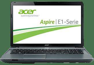 ACER Aspire E1-731-20204G50MNII, Notebook mit 17,3 Zoll Display, 4 GB RAM, 500 GB HDD, Intel HD Graphics, Nightfall Gray