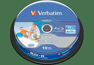 VERBATIM BD-R SL Datalife 25GB 10er Spindel 43804