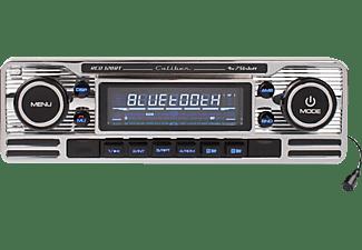 CALIBER Autoradio RCD120BT im Retro Design, silber