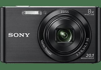 SONY DSC-W830 BDI schwarz Set inkl. 8GB SD Karte und Fototasche LCS-CSZ, Cyber-shot, Kompaktkamera