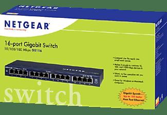 NETGEAR Switch ProSAFE GS116v2, 16-Port