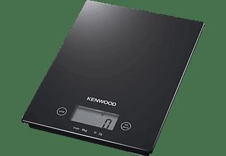 KENWOOD Küchenwaage DS 400 GLAS/SCHWARZ