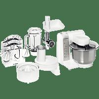 BOSCH Küchenmaschine MUM4880 PROFI MIXX WEISS/SILBER