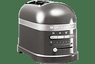 KITCHEN AID Toaster für 2 Scheiben Artisan 5 KMT 2204 EMS Silber
