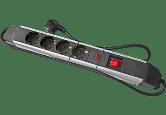 PUNEX ETV4951 Tischverteiler 4-fach mit Überspannungsschutz