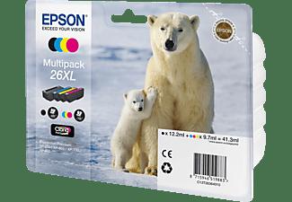 EPSON Multipack 4 Farben 26XL Claria Premium Ink C13T26364010