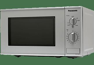 PANASONIC Mikrowelle mit Grillfunktion in Silber NN-K121M