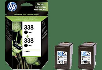 HP Tintenpatrone Nr. 338 2er Pack, schwarz (CB331EE)