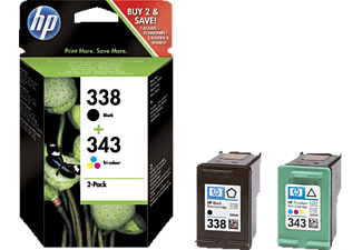 HP SD449EE INK CARTRIDGE NO 338/343