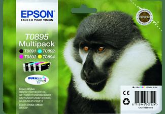 EPSON T0895 Multipack Black+Colour C13T08954010