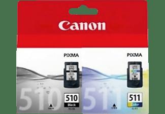 CANON Tintenpatrone Multipack 510/511 black+color (2970B010)