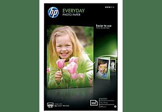 HP Fotopapier glänzend 100 Blatt/10x15 cm