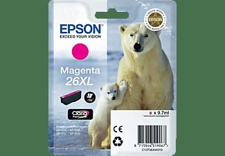 EPSON Tintenpatrone 26XL, magenta (C13T26334012)