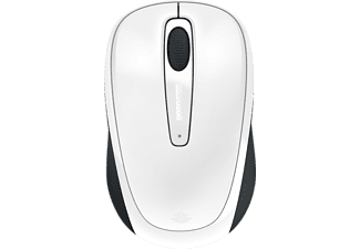 MICROSOFT PC Maus 3500, kabellos, weiß (GMF-00196)