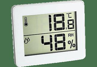 VIVANCO Digitales Thermo-Hygrometer ultra-flach, weiß