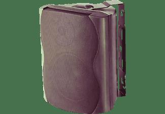 JB SYSTEMS K50 Designlautsprecher mit ansprechendem Kunststoff-gehäuse (Paar), schwarz