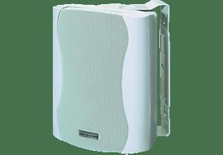 JB SYSTEMS K 80 Bassreflex Designlautsprecher mit ansprechendem Kunststoff Gehäuse (Paar), weiß