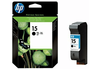 HP Tintenpatrone 15 Black 25ml