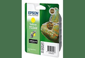 EPSON Tintenpatrone T0344 gelb