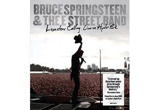 The E Street Band - LONDON CALLING LIVE IN HYDE PARK [DVD + Video Album]