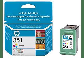 HP Tintenpatrone Nr. 351, farbig (C337EE)