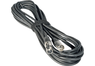 JB SYSTEMS XLR M - XLR F Signal Kabel 2,5 m, 7-0062