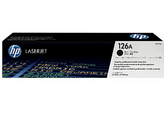 HP Tonerpatrone Nr. 126A Schwarz (CE310A)