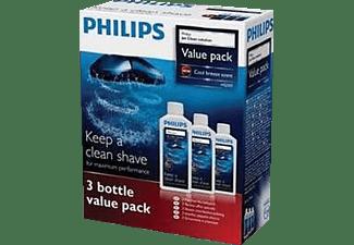 PHILIPS Jet Clean Lösung Vorteilspack HQ203/50 zur Scherkopfreinigung