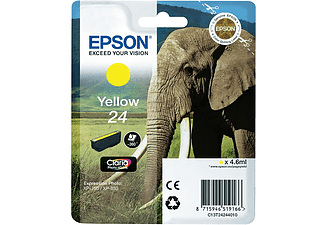 EPSON Tintenpatrone 24, gelb (C13T24244012)