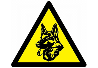 INDEXA Wachhund Aufkleber