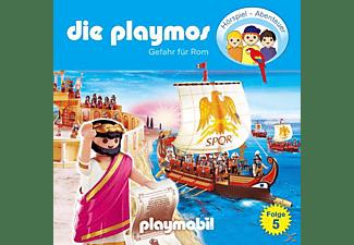 Die Playmos 05: Gefahr für Rom  - (CD)